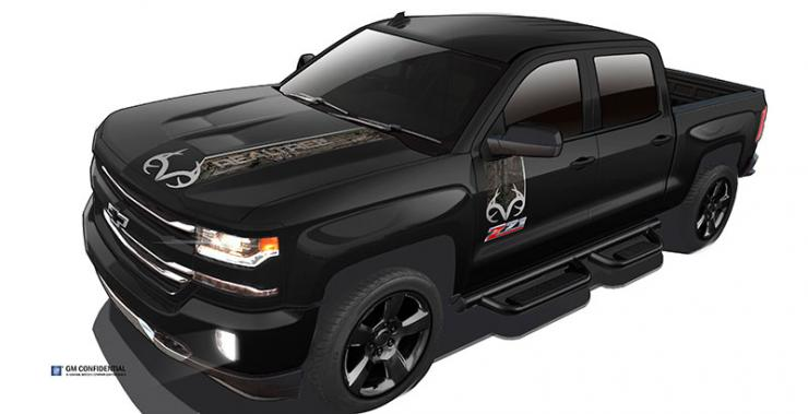 Chevrolet Introduces Silverado Realtree® Edition ...