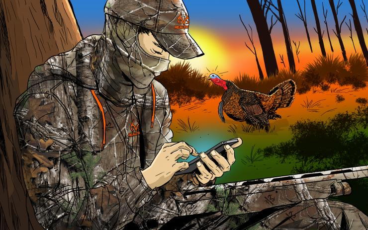 10 Reasons Why You Suck at Turkey Hunting (© Ryan Orndorff illustration)