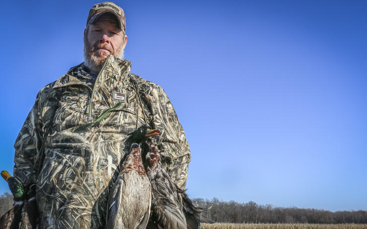Kent Woodrow, owner of Illinois Whitetail and Waterfowl, says good outfitters are open and honest with prospective clients. Photo © Brian Lovett