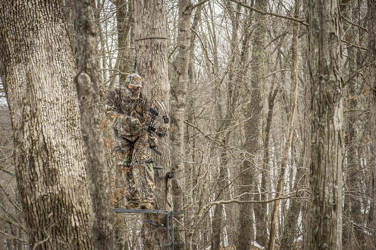 Stay focused and poised while on the hunt. There's no alternative for hard work, preparedness and precision. (Bill Konway photo)