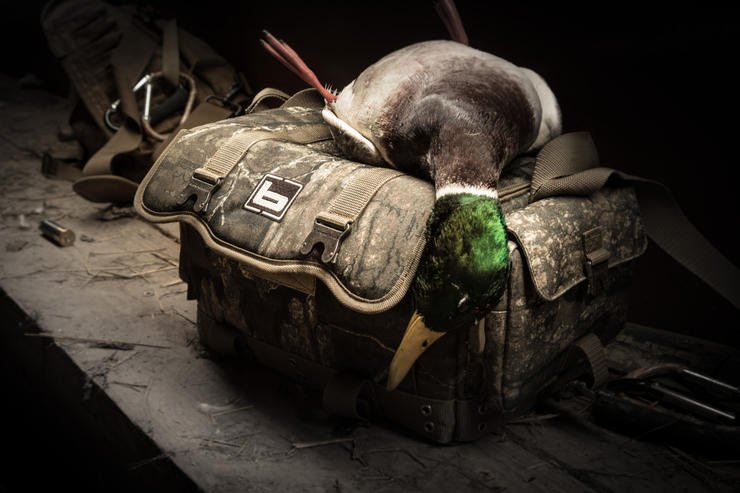 What's in your waterfowling bag? Hopefully gear that keeps you safe, comfortable and efficient. Photo © Jeff Gudenkauf
