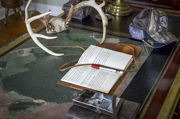 Journals have played a major role in the author's hunting career. They can do the same for you. (John Kirby photo)