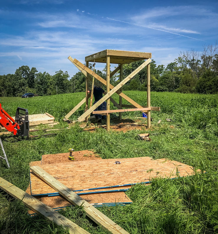 Build a Shooting House on a Budget