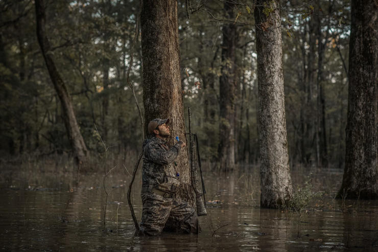 Hunting green timber can be tough for newbies. However, veteran hunters have some tricks for consistently getting ducks in the woods. Photo © Andrew Murray