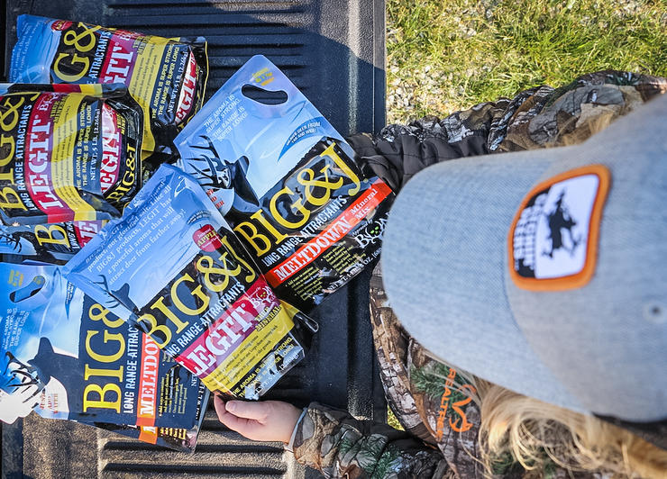 Use attractants to supplement the herd and help your hunting, too. (Josh Honeycutt photo)