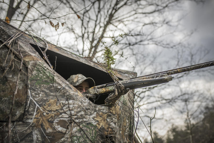 Missing a turkey is unfortunately part of the deal. Here's how to improve. © Bill Konway photo