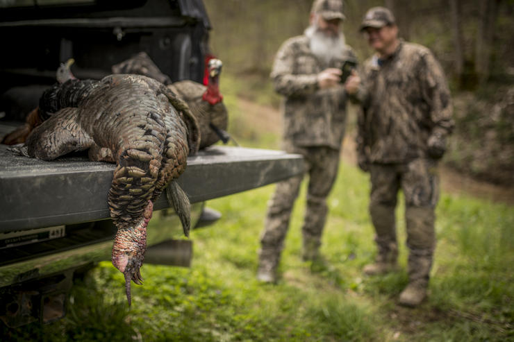Some of the best hunters I know have key landowner contacts. They get on private land, which often holds opportunities for unpressured turkey hunting. © Bill Konway photo