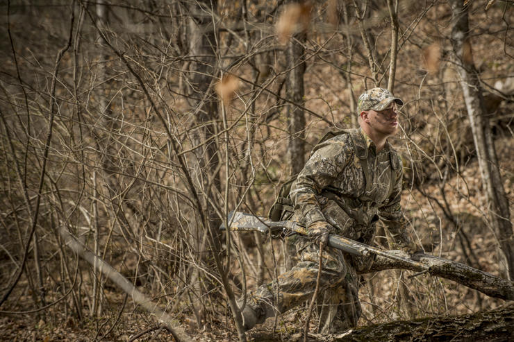 More often that not, turkeys don't do what they are supposed to do. (© Bill Konway photo)