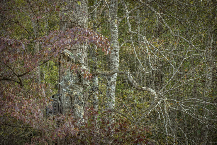 It is abundantly clear that having good virtues improves a hunter's odds in the deer woods. (Bill Konway photo)