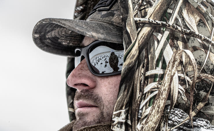 """Boy, I really hope it doesn't get cold this fall and winter,"" posted no duck hunter ever. Photo © Nick Costas"