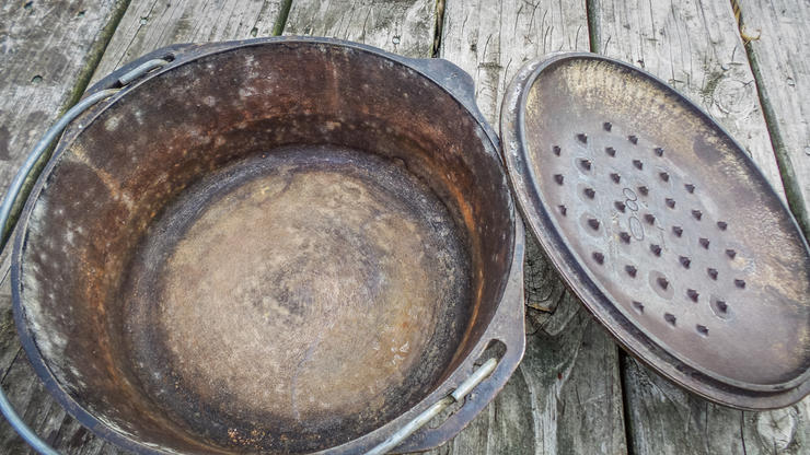 Even old or rusty cast iron can easily be restored to better-than-new condition.