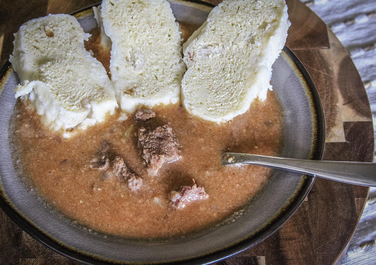 Czechoslovakian Style Venison Goulash With Dumplings Recipe Realtree Camo