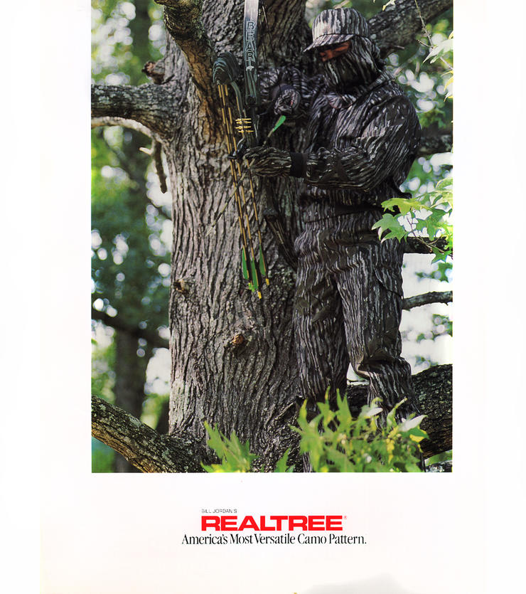 The first Bear bow in Realtree camo. (Realtree photo)