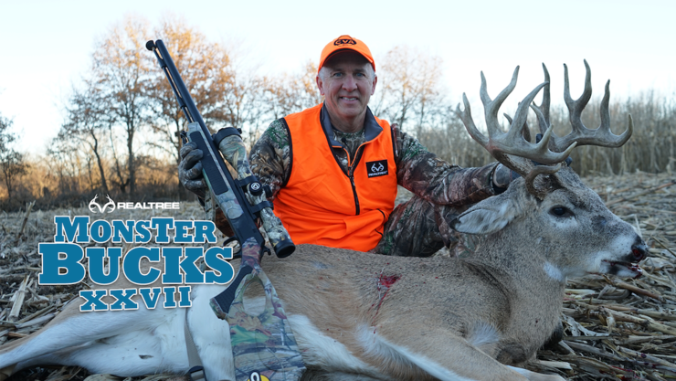 David Blanton does work with the muzzleloader in Iowa. (Realtree photo)