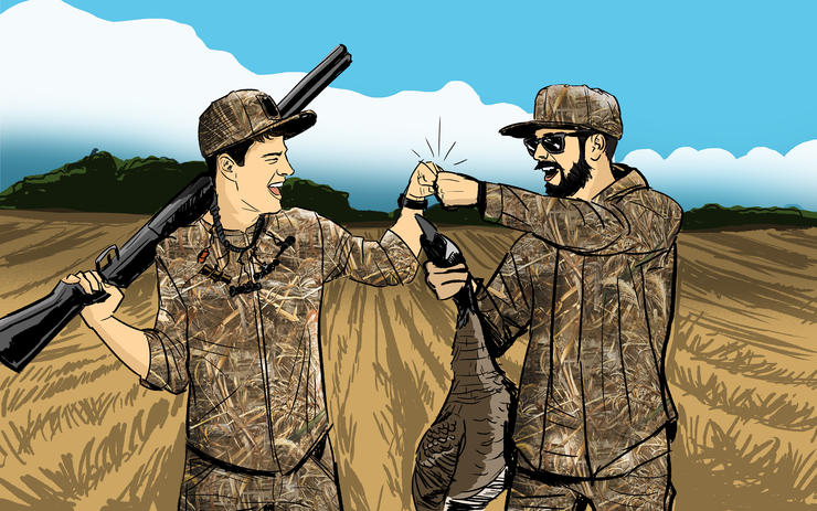 Are 20-somethings ruining duck hunting? Hardly, and the author explains why. Illustration © Ryan Orndorff