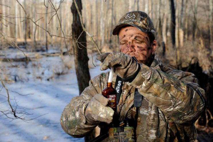Some don't believe banning urines will decrease the spread of CWD, though. As some research suggests other methods of transmission, such as saliva, are more likely to spread the disease. The QDMA says there is still a risk. (Realtree / Brad Herndon photo)
