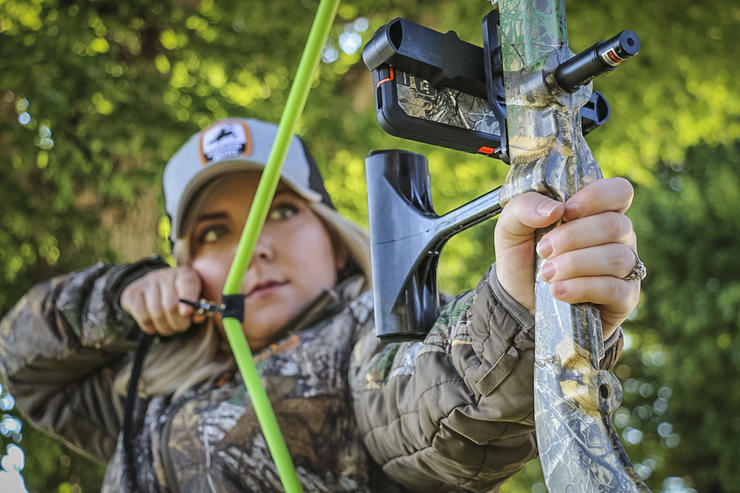 The muscles we use to draw a bow are used few other times in life. This product excels at working those, ultimately building them up so you can either increase draw weight or pull your current poundage with more ease. (Josh Honeycutt photo)