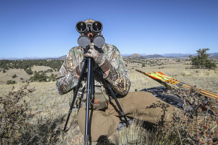 Spend plenty of time behind the glass. This is a crucial aspect of western-based hunting. (Brian Strickland photo)