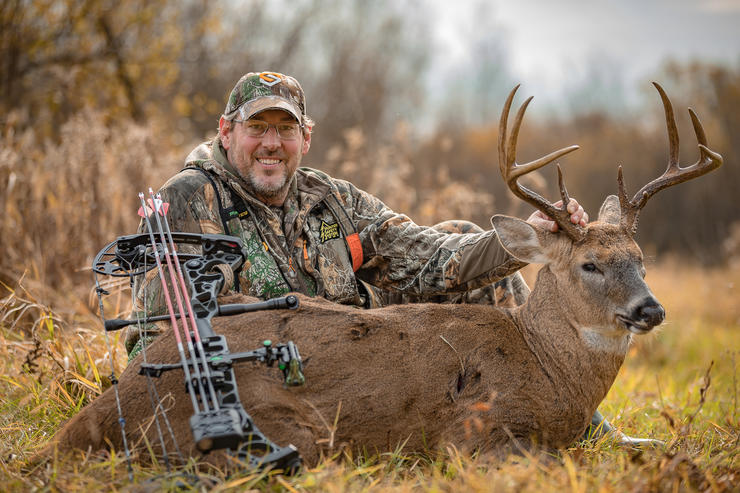 No-draw, DIY bucks are hard to come by. But they're certainly rewarding. (Wired Outdoors photo)