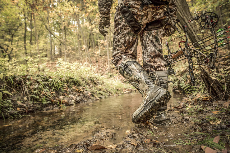 Many deer hunters own multiple pairs of boots to handle changing conditions throughout the season. (Irish Setter photo)