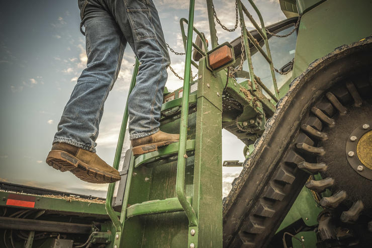 Choose a boot that fits properly, offers comfortability and durability, and keeps your feet safe on the job. (Irish Setter photo)