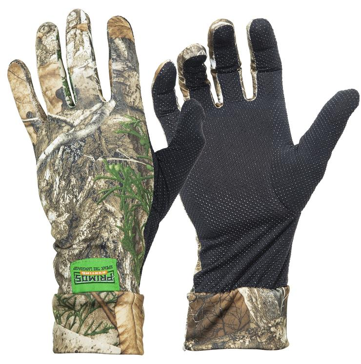Primos Stretch-Fit Realtree EDGE Camo Gloves
