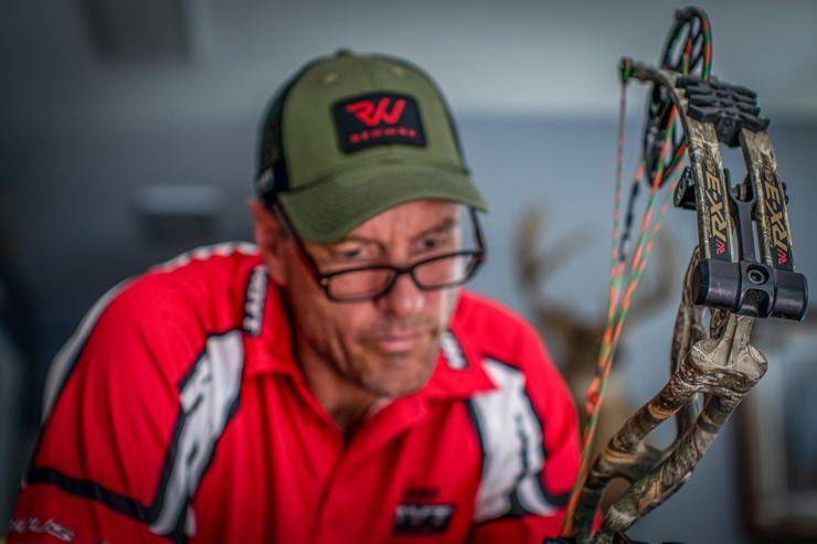 Bill Winke, host of Midwest Whitetail, is a big proponent of exercise to improve archery skills and muscle memory. (Midwest Whitetail / Bill Winke photo)