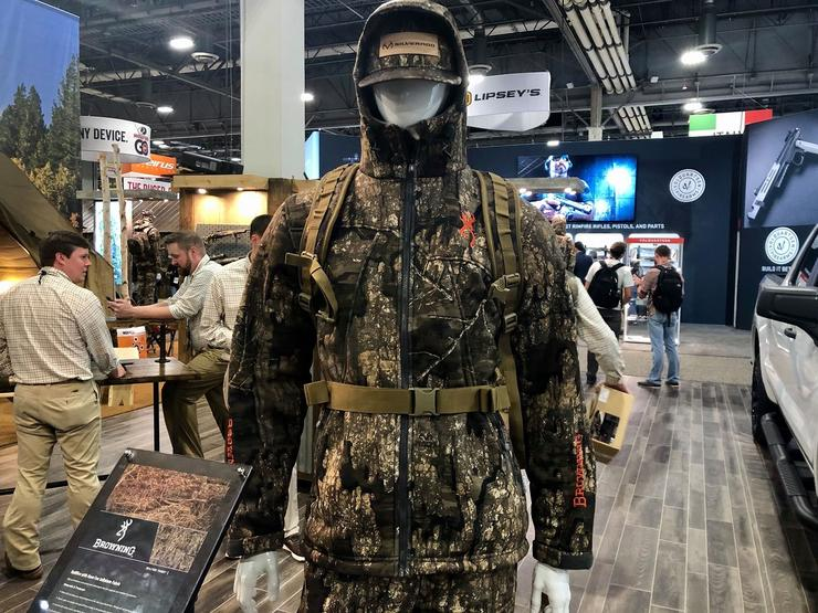 Browning Hellfire with Gore-Tex Infinium Fabric