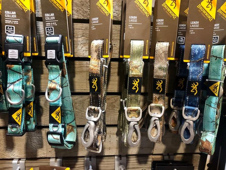 Browning Realtree Dog Collars and Leashes