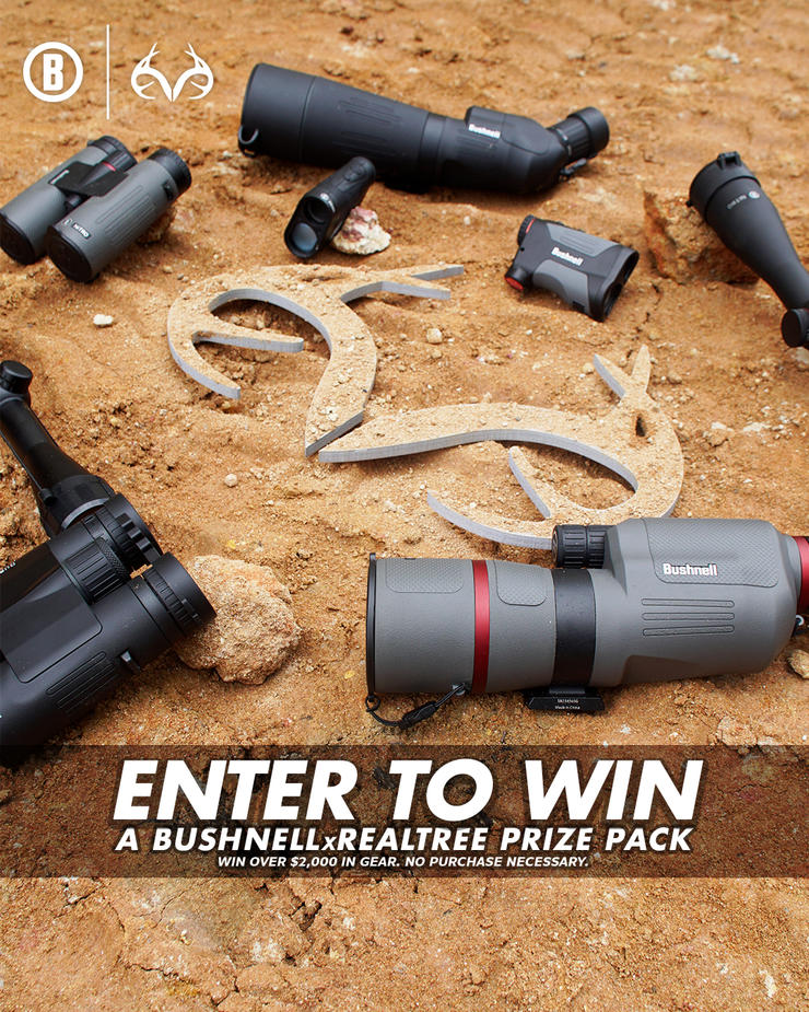 Enter before the deadline for a chance to win some incredible hunting gear. (Realtree photo)