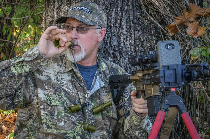 Realtree pro staffer and Convergent Hunting Solutions' Byron South talks to 'em. (Convergent Hunting Solutions photo)