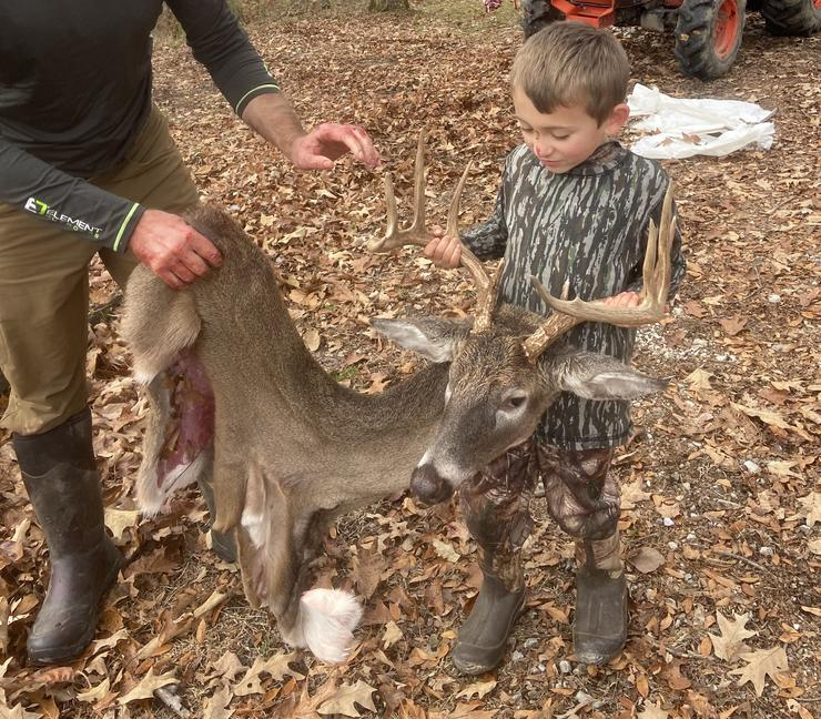 Caping a deer for the wall begins with a correct field-dressing job. (Author Image)