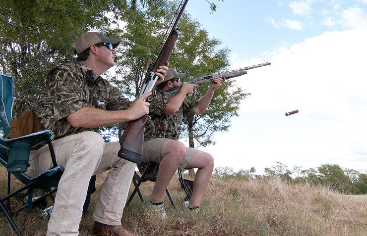 Practice shooting from a sitting position ahead of time. (Austin Ross Image)