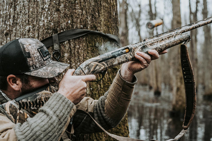 Sub-gauge loads have more than enough power to kill ducks, but their payloads are limited. Your effective range is dictated by pattern density and spread. Photo © Brandon Martin