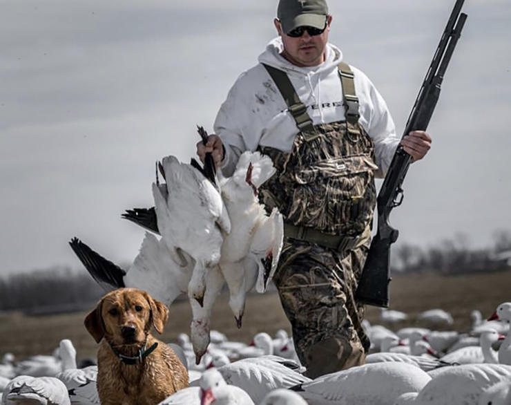 Love light geese but hate crowds? Look for offbeat locations far from mainstream spring hotspots. Photo © Brandon Martin