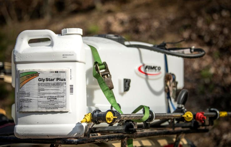 Become very knowledgable about herbicides before spraying food plots. This isn't a job you half-do. (Bill Konway photo)