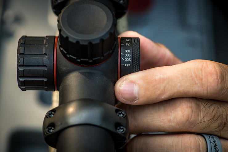 Side parallax adjustment is common on many long-range scopes, but rarely of concern to deer hunters.