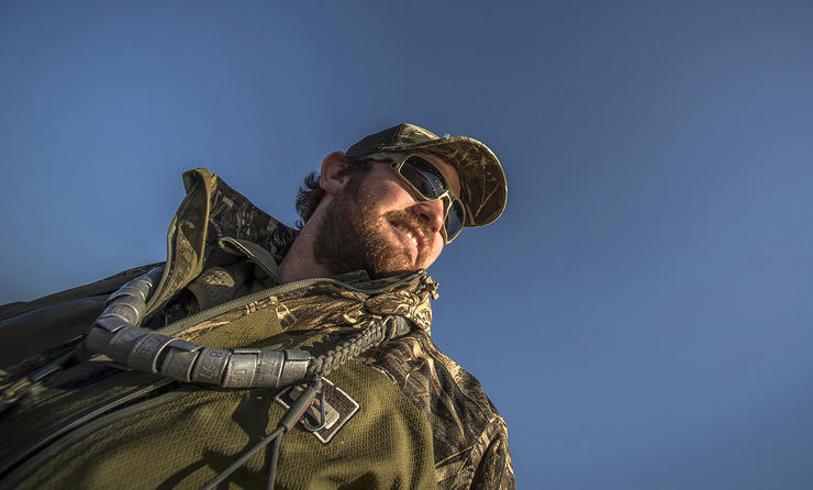 Longtime SEMO hunter Eric Rinehart will begin guiding waterfowlers in 2020-2021 at North Delta Outfitters. Photo © Bill Konway