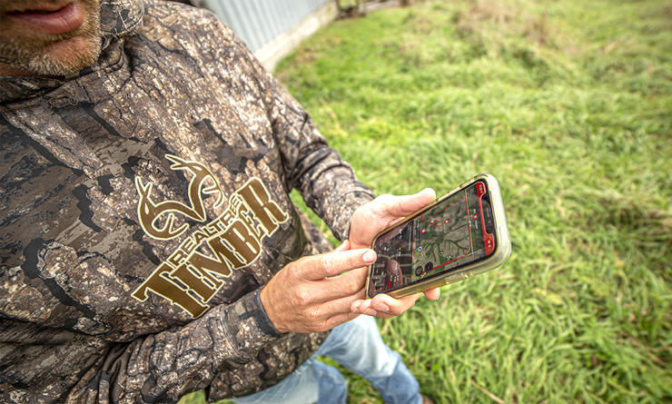 The onX Hunt app is a powerful tool that can benefit just about any deer hunter. (Realtree photo)