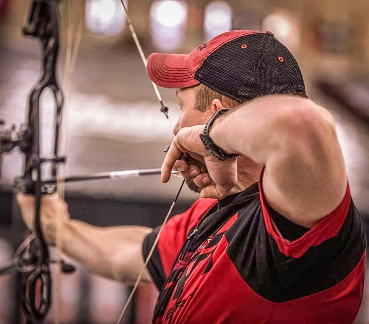 Hoyt Pro Staffer Donnie Thacker focuses on reflection, tuning and taking breaks during the off-season. (Donnie Thacker Jr. photo)