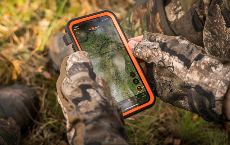 Hunting apps, such as onX Hunt, solves problems hunters have long battled. (Realtree Spring Thunder photo)