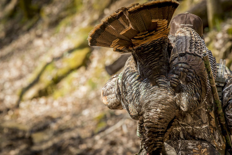 Hunting alone is also sometimes safer than in a hard-hit public land spot. And these days, maybe a wise idea for other reasons. © Bill Konway photo
