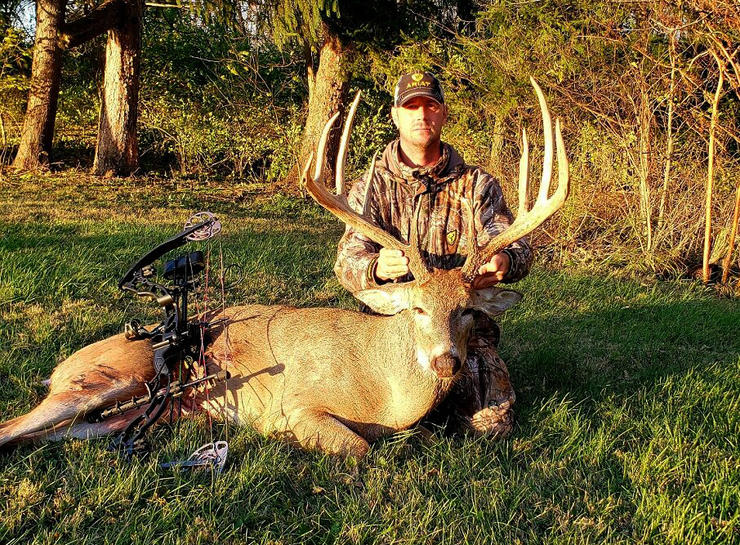 No stranger to big whitetails, Johnny knew as soon as he saw the trail cam photo that he had to go after the buck.