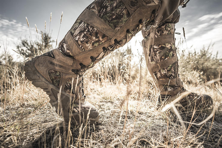 The varying terrain and ever-changing weather conditions that come with turkey hunting require you to consider a number of factors to ensure that you end up in the right boots. (Irish Setter photo)