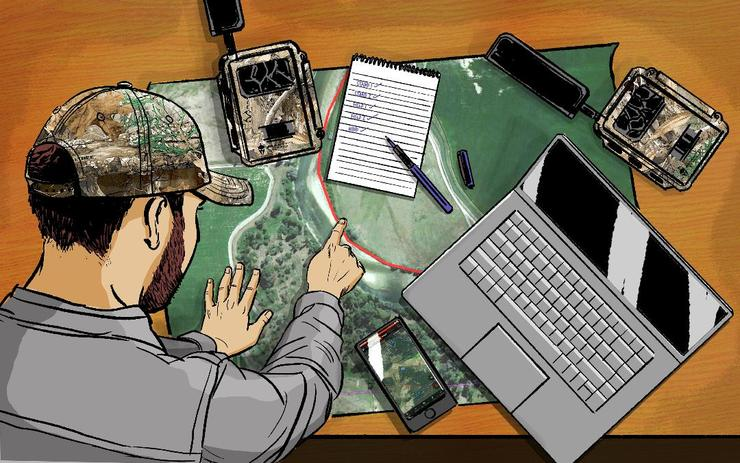 Are deer hunters suffering from information overload? (Ryan Orndorff illustration)