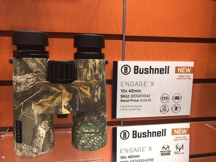 Bushnell Engage X Binos