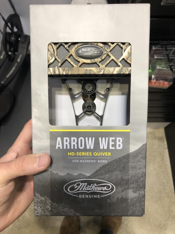 Mathews Arrow Web Quiver