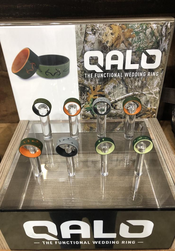 Qalo Silicone Rings
