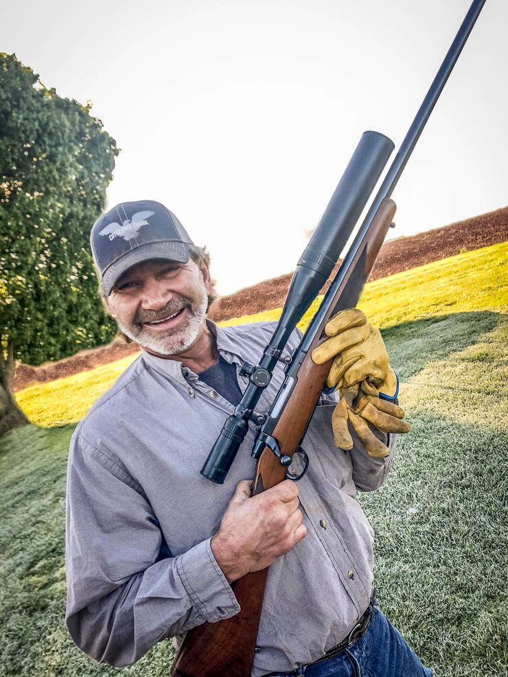 Uncle Robert is the type of guy who puts 28-inch scopes on rifles. (Josh Honeycutt photo)