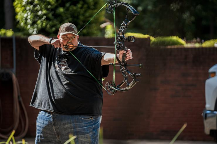 Turner won his first 3D archery tournament after just three days of bow experience. Image by Realtree